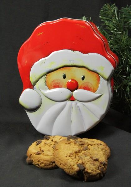 Keksdose Weihnachtsmann