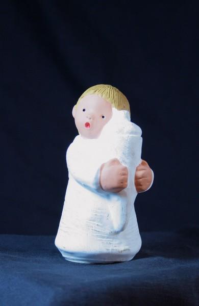 Engel Charly mit Tüte