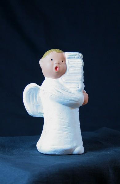 Engel Adel - Mit Bücherstapel